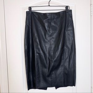 Express | Faux Leather Pencil Skirt